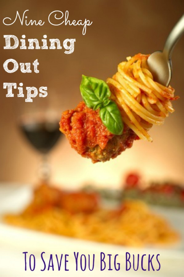 Love to dine out but don't want to break the bank. Love these 9 cheap dining out tips that save you money!