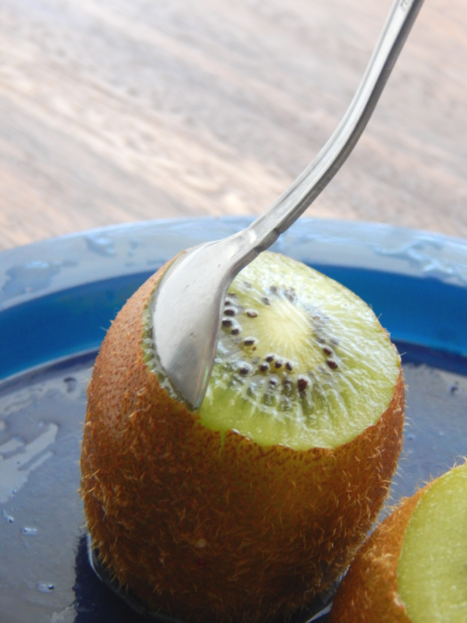 This fresh fruit salad recipe is amazing. It has a top secret ingredient too!