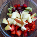 This easy fresh fruit salad recipe is one of our favorite recipes of the summer!