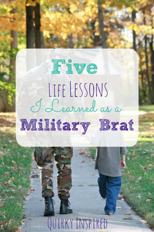 If you need inspiration on life lessons, check out these 5 life lessons I learned as a military brat and how it's helped me become a successful business owner. #ad