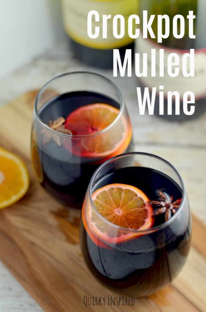 Crockpot mulled wine recipe