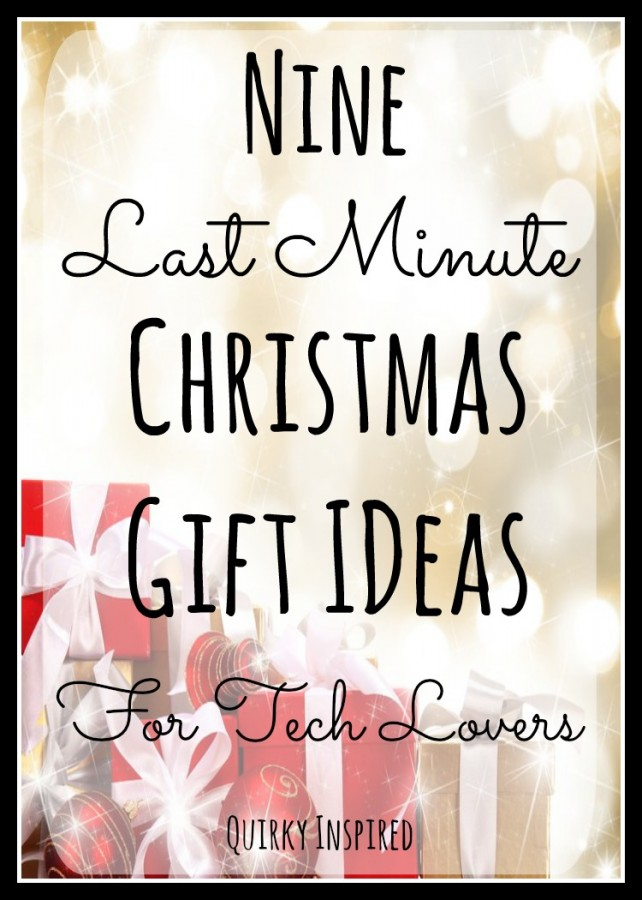 Looking for last minute Christmas gift ideas? Then these 8 tech gifts are sure to make your family happy!