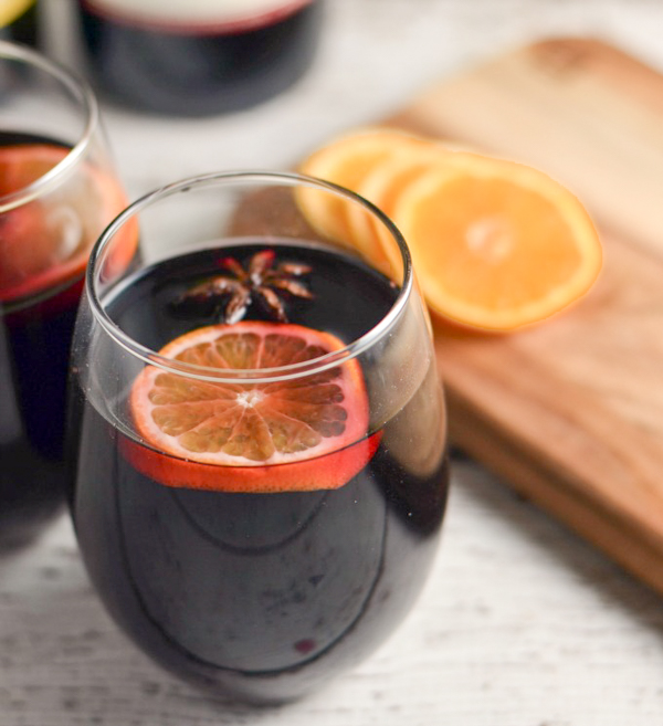 This slowcooker mulled wine recipe is one of the easiest recipes for your next party!
