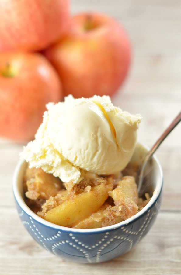 This homemade apple crisp recipe is one of our favorite easy dessert recipes, plus you can make it allergy friendly, regular, or gluten free too!