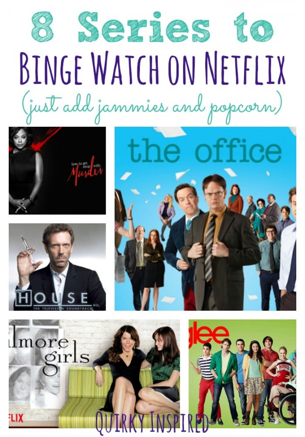 Looking for things to binge watch on Netflix? Then check out these eight complete series to get your binge watching on!