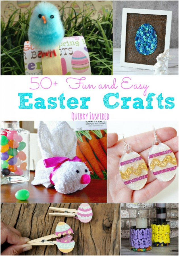 Fun and easy easter crafts are such a great way to celebrate Easter. Check out these great Easter crafts for kids, Easter home decor ideas, and more!