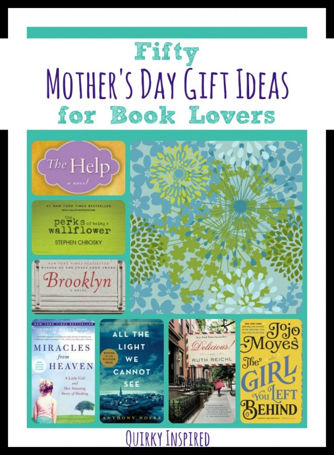 Mother's Day Gifts Ideas for Book Lovers
