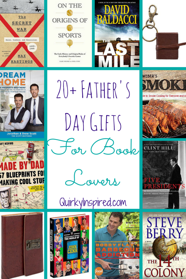 20+ Father's Day Gifts For Book Lovers