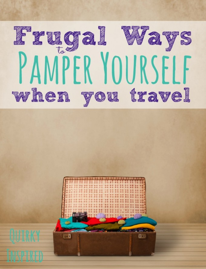 If you travel for business, it's important to know frugal ways to pamper yourself when you travel so you don't burn out!