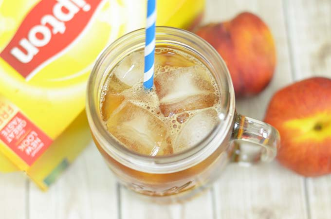 Peach Iced Tea Recipe Perfect With Any Meal!
