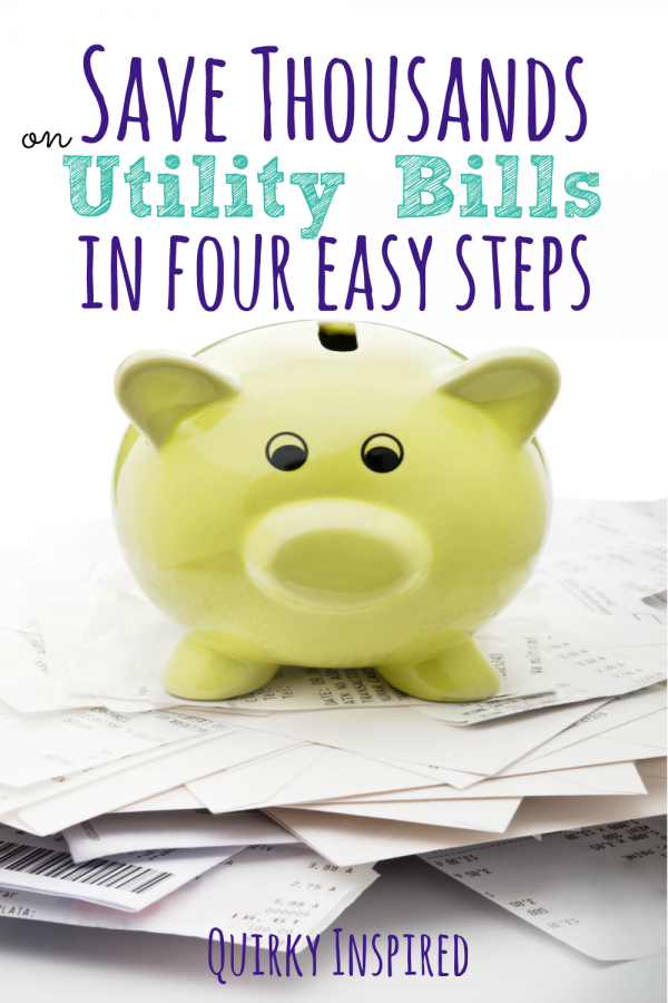 It's easy to learn how to reduce utilities bills. ALl you have to do is check out these four simple steps to save you thousands a year.