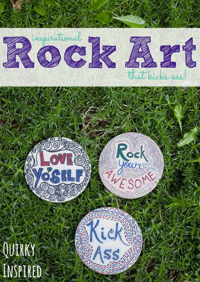 Check out these rock art inspirations for your garden that are more kick ass than others!