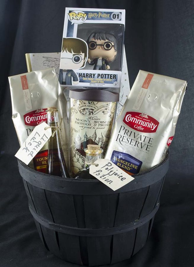 Have a muggle in your life? Check out this awesome Harry Potter gift basket you can make!