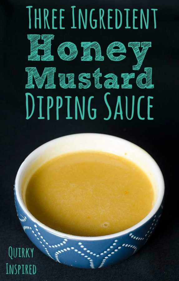 Love to tailgate? Check out this 30 second honey mustard sauce recipe!