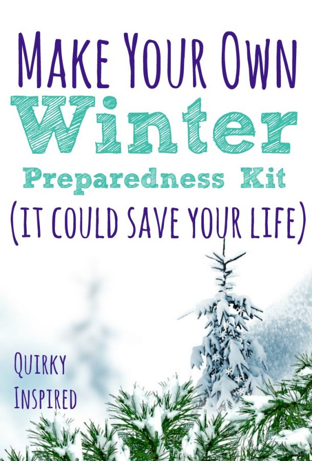 Make your own winter preparedness kit you can count on!