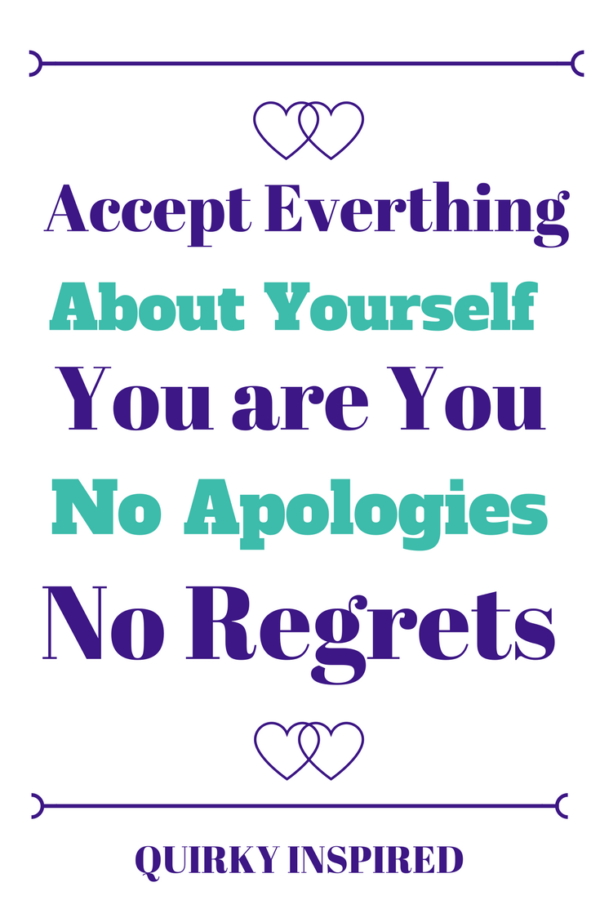 Learn how to accept yourself quotes