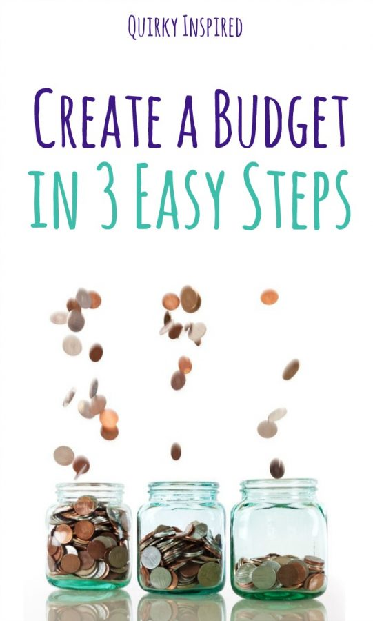 Money troubles? Learn how to create a budget in 3 easy steps!