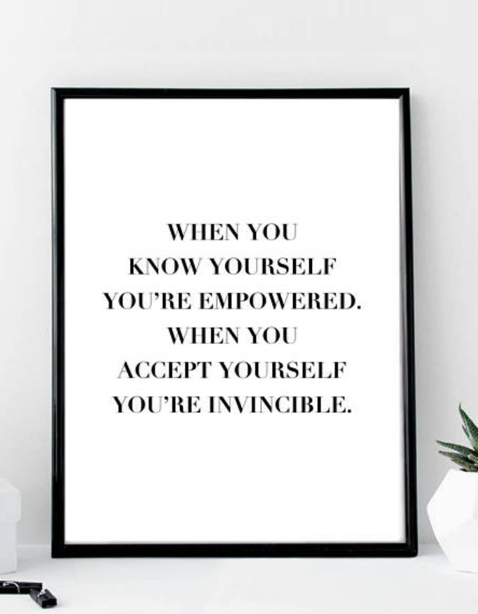 Trouble accepting who you are? Read these learn how to accept yourself quotes