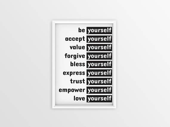 Need to learn how to love yourself? These self acceptance quotes will help you love your awesome self!