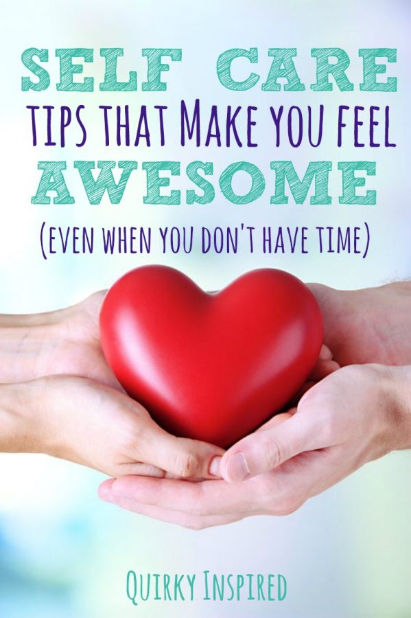 Ever feel like you NEVER have time for yourself, but you are so stressed and frazzled that it actually causes you to get sick? Save your sanity and your health with 3 self care tips that will make you feel awesome even when you have no time!