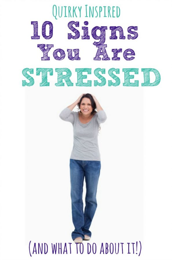 Stressed out? You won't believe how stress affects your body! Here are some signs you are stressed out and what to do about it!