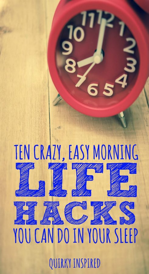 morning life hacks tips to save your sanity