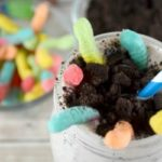 This is a fun twist on the classic Cookies and cream milkshake recipe!