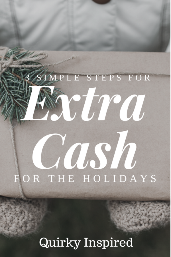 Extra Money for the Holidays in Three Easy Steps!