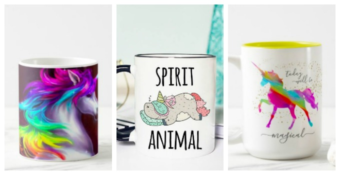 If you are looking for some flipping adorable unicorn coffee mugs THIS is the place!
