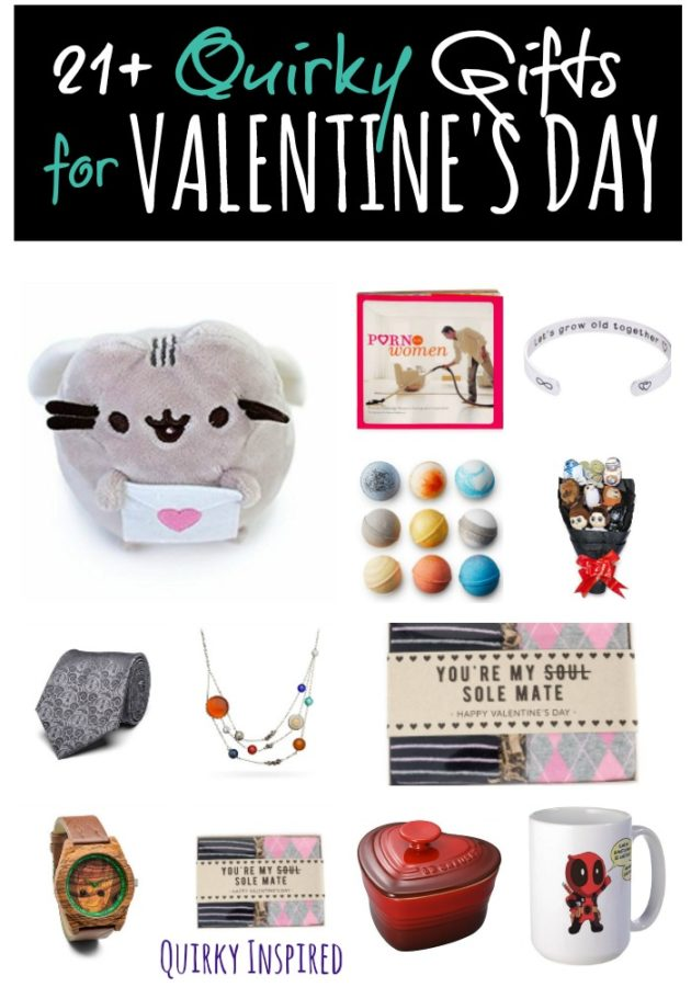 Romantic Valentine's Day Gift Ideas for Your Quirky Valentine