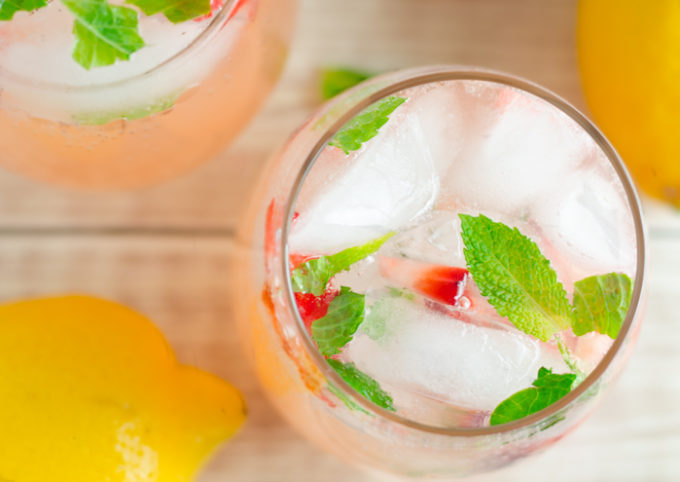 Strawberry Mint Lemonade Recipes
