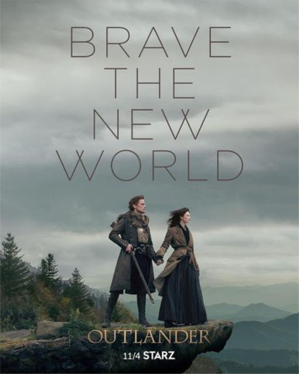 This Outlander Season 4 poster has us doing happy dance. Check out when Outlander Season 4 will premiere and the Outlander season 4 trailer!