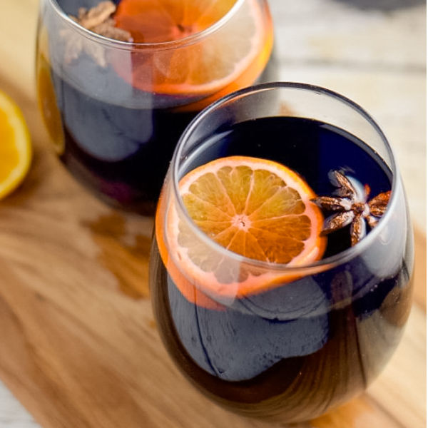 This slow cooker mulled wine recipe is super easy to make, and will even make you a fan if you are not a red wine lover.