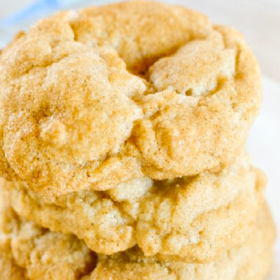 Snickerdoodle cookies without cream of tartar with a SECRET ingredient!