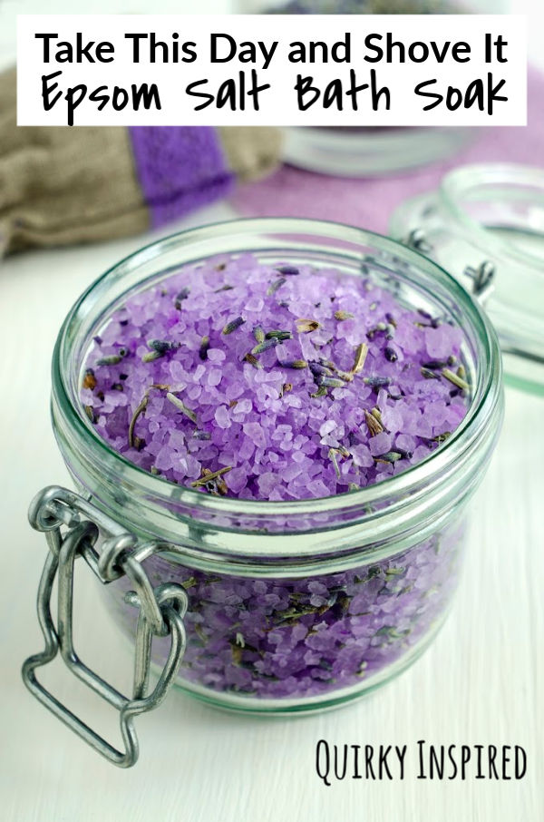Bad day at work? Take this day and shove it with these Epsom Salts Detox recipes!