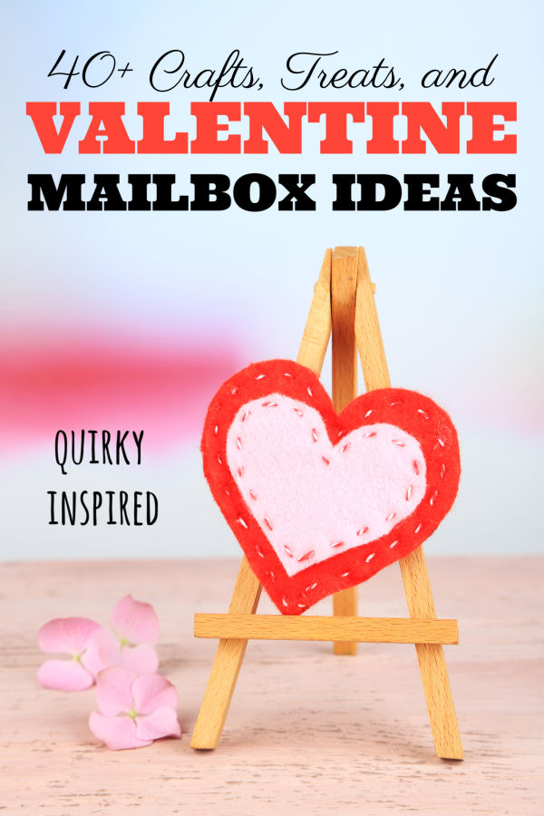 These Valentine Mailbox Ideas, Valentine Crafts, and Valentine Treat bags are perfect for your quirky sweetheart