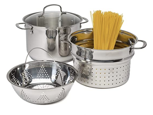 Pasta Pot with Strainer